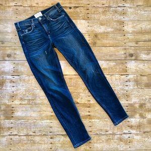 McGuire Denim High Waist Distressed Skinny Jeans